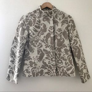 NWT Coldwater Creek Shimmer Jacquard Jacket size 6